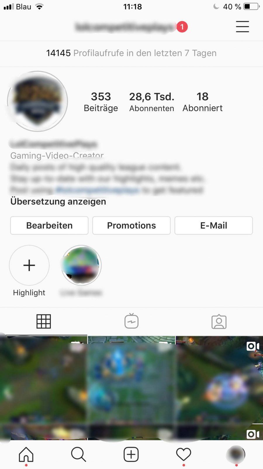 Instagram Account 28600 Follower
